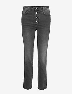 Devine denim - jeans droites - washed black