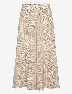 Stacey - jupes midi - sand print