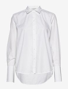 Linda - long-sleeved shirts - white