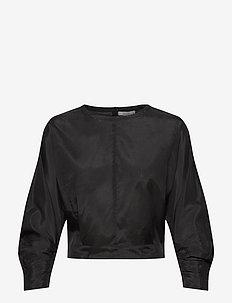 Sigrid - langærmede bluser - black