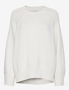 Emily round neck - gensere - off white