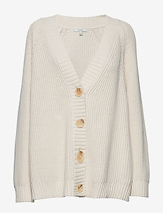 Beata rib - cardigans - off white
