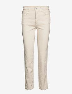 Devine - straight jeans - ecru