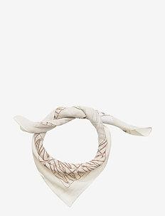 Lykke mini scarf - scarves - off white/sand