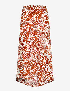 Gaia - maxi skirts - abstract flower