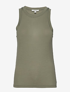 Camelia - sleeveless tops - sage
