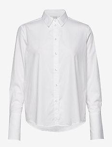 Linda - langermede skjorter - white