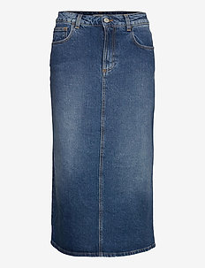 Sky denim - denim skirts - blue