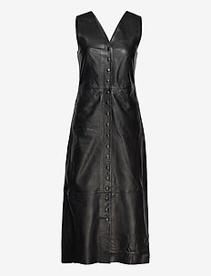 Cicily - midi dresses - black
