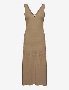 Gemma - maxiklänningar - beige