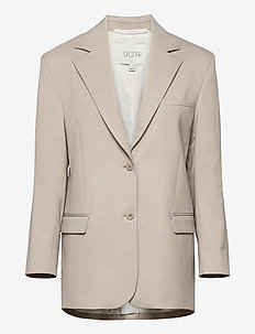 Agga - blazere - light grey