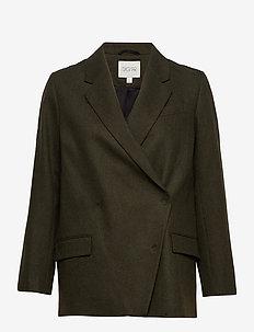 Anissa blazer - blazere - dark green