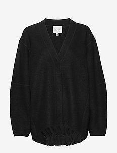 Bea long - cardigans - black