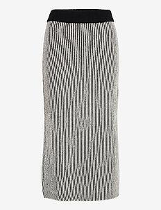 Hayden - midi kjolar - white/ black