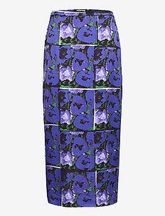 Leona print - jupes midi - flower print