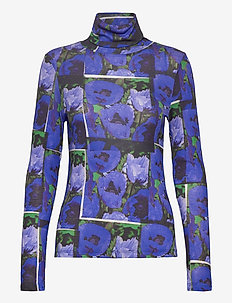 Remi print - long sleeved blouses - flower print