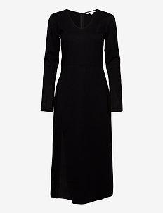Milana - midi dresses - black