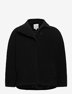 Velma - wool jackets - black
