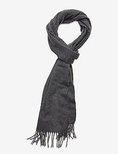 Wool scarf - scarves - grey melange