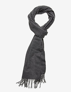 Wool scarf - sjalar & halsdukar - grey melange