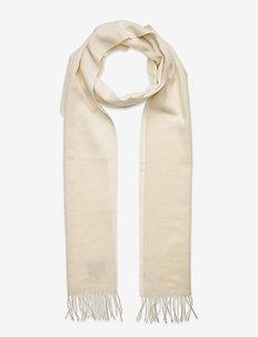 Wool scarf - sjalar & halsdukar - white