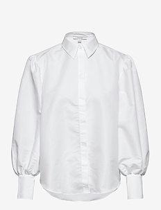 Melisa - långärmade skjortor - white