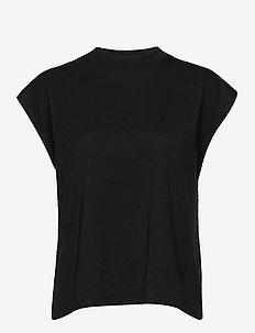 Maggie - tops zonder mouwen - black
