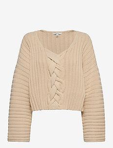 Sasha - navel shirts - sand