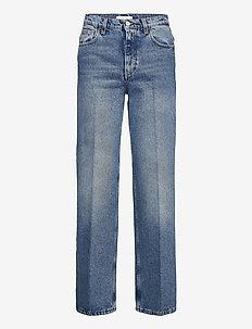 Alba - straight jeans - medium blue