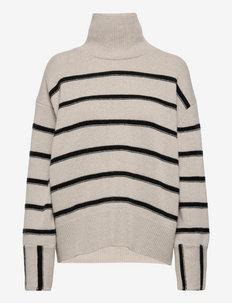 Mazzy stripe - turtlenecks - stripe