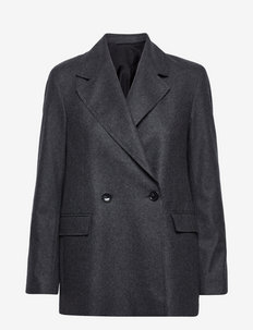 Iris flannel - oversize blazers - grey