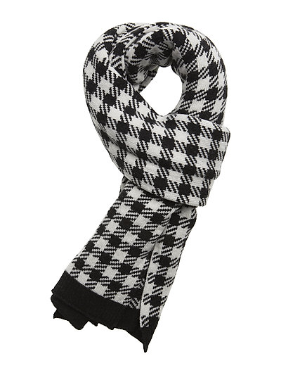 Dog tooth scarf - CHECK