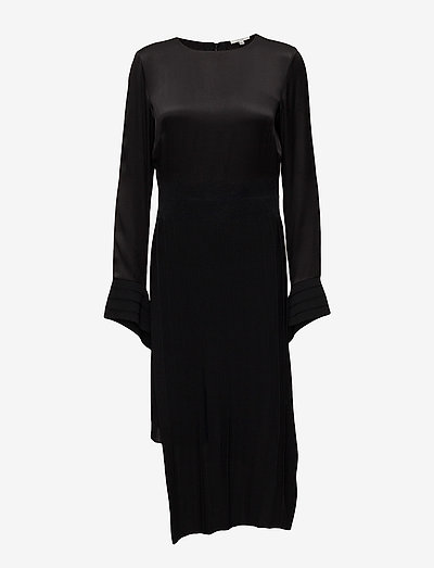 Nia - midi jurken - black/off white