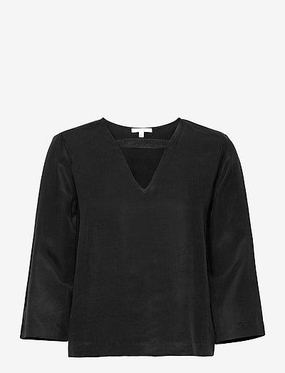 Shimako - langærmede bluser - black