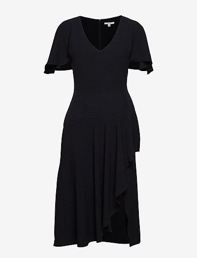 Zoe - midi jurken - black