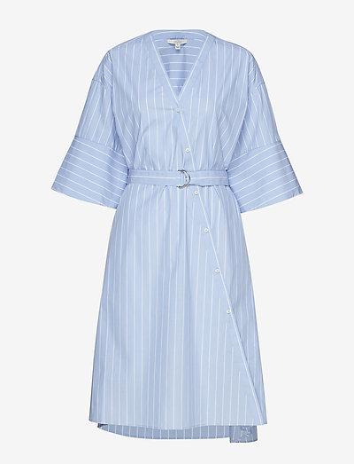 Cassy - wikkeljurken - blue stripe