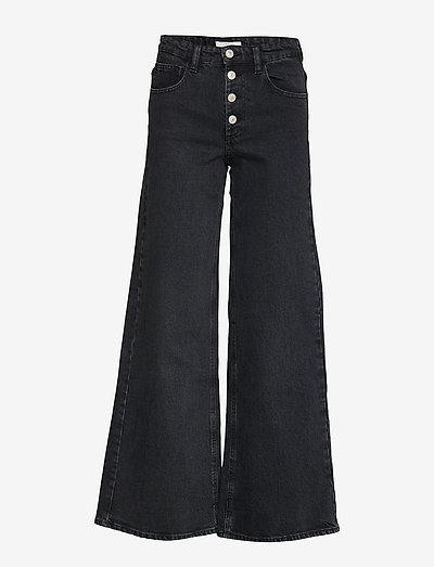 Peggy - flared jeans - washed black