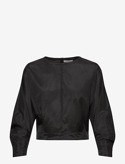 Sigrid - long sleeved blouses - black