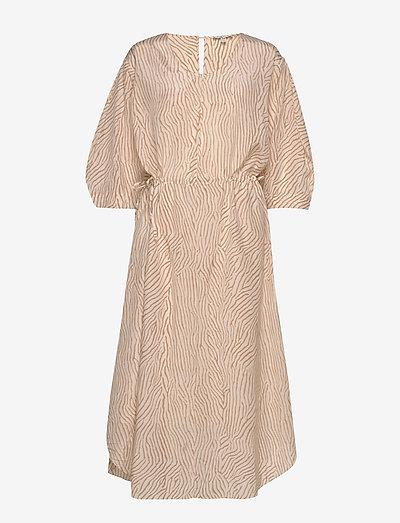 Misty - midi jurken - sand print
