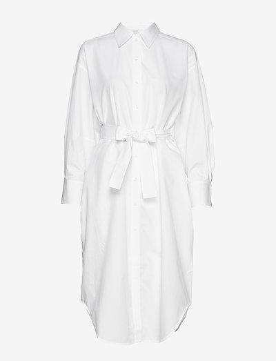 Ellie - midi jurken - white