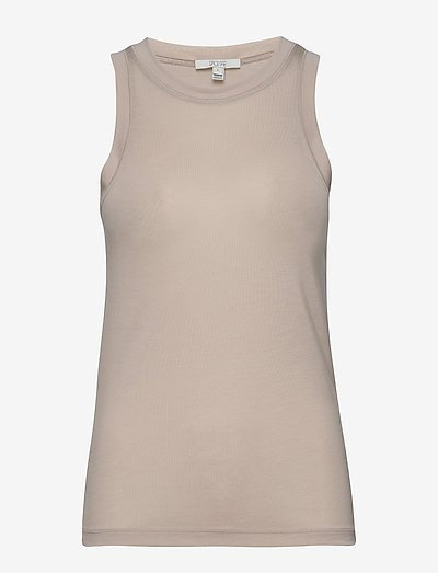 Camelia - tops zonder mouwen - light grey