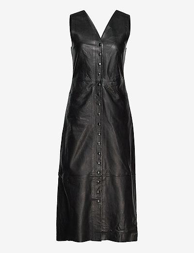 Cicily - midi jurken - black