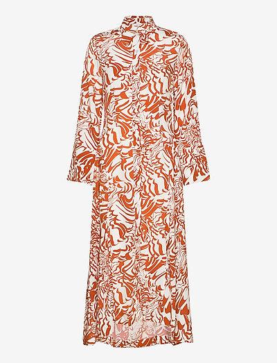 Valeria - alledaagse jurken - abstract flower