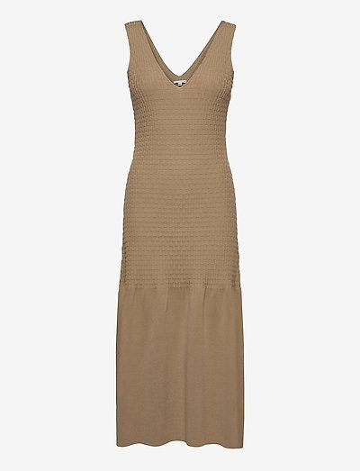 Gemma - bodycon jurken - beige