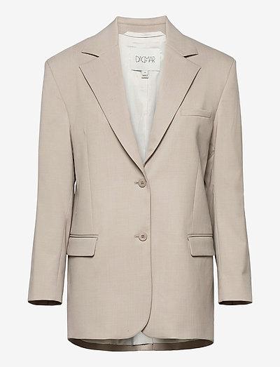 Agga - getailleerde blazers - light grey