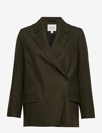 Anissa blazer - oversized blazers - dark green