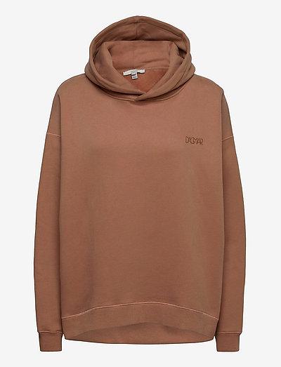 Jam hoodie - sweatshirts & hættetrøjer - nougat