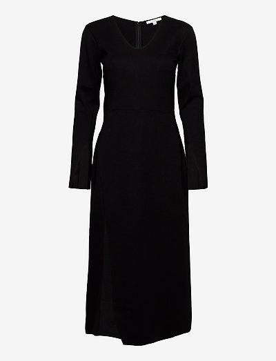 Milana - midi jurken - black
