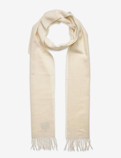 Wool scarf - asusteet - white
