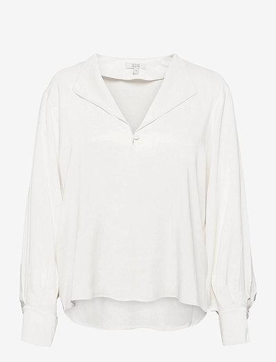 Nova - long sleeved blouses - off white